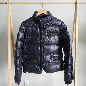 LUCKY BRAND Black Puffer Coat
